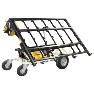 WEHA Hydraulic tilting transport cart, 500 kg