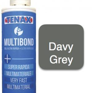 Multibond Cartridge Glue - Davy Grey