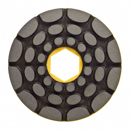150mm Twincur Edge Polishing Pad 500g Snail Back