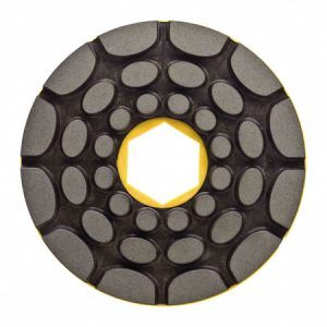 150mm Twincur Edge Polishing Pad 1000g Snail Back